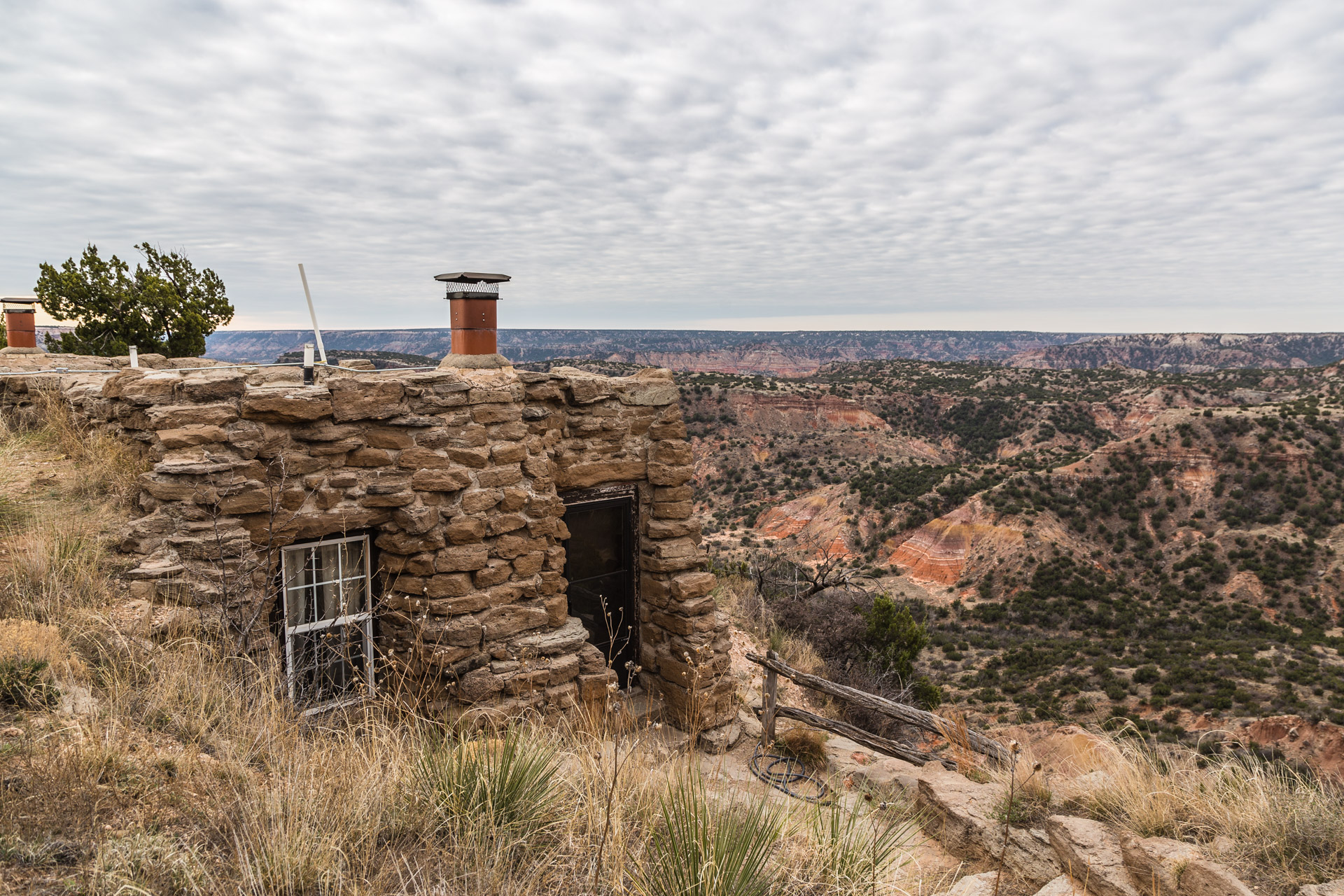 A closer look at the cabin in palo duro canyon state park for Cabins near palo duro canyon state park