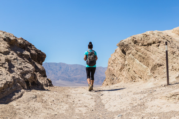 A Scorching Hot Hike In Death Valley National Park