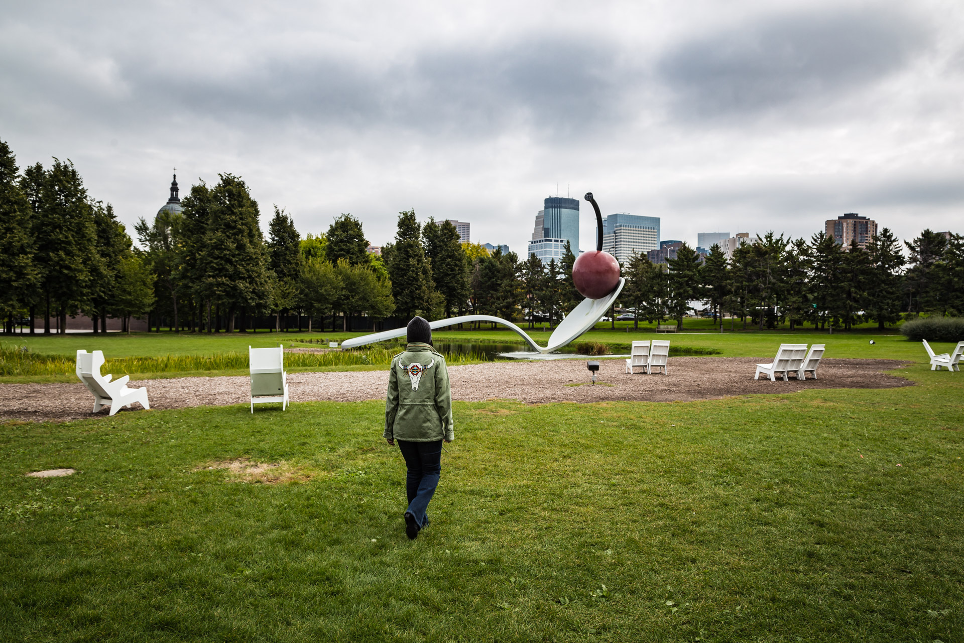 An Art Break At The Minneapolis Sculpture Garden