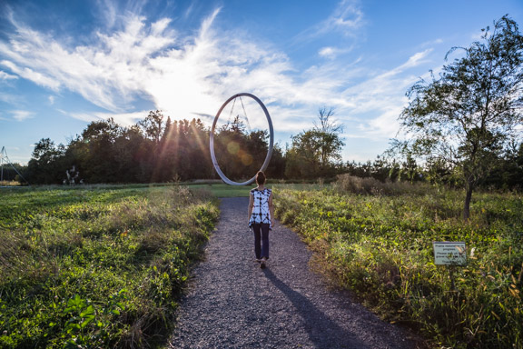 An Artistic Nature Walk At Franconia Sculpture Park Part 1