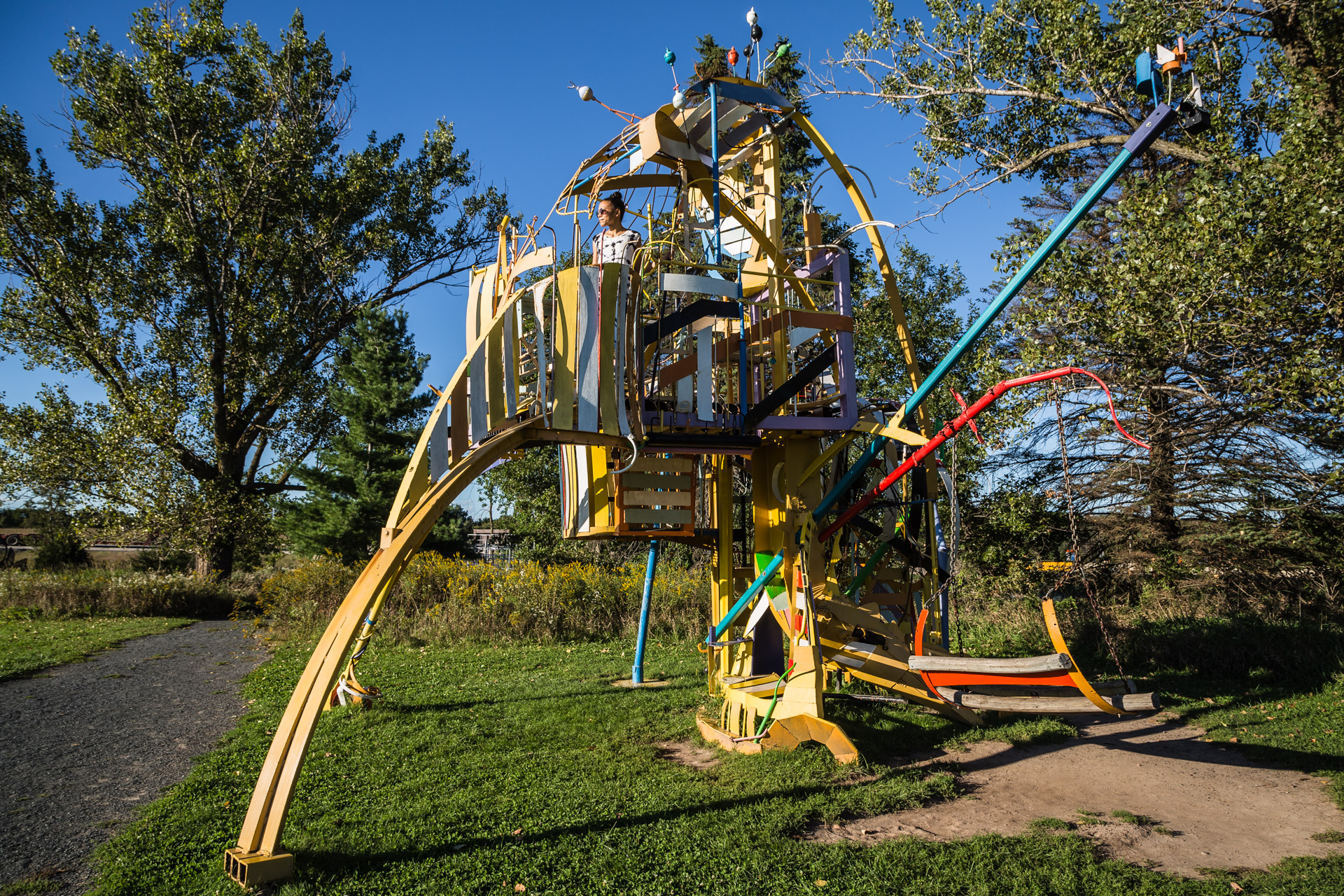 Franconia (jungle gym)