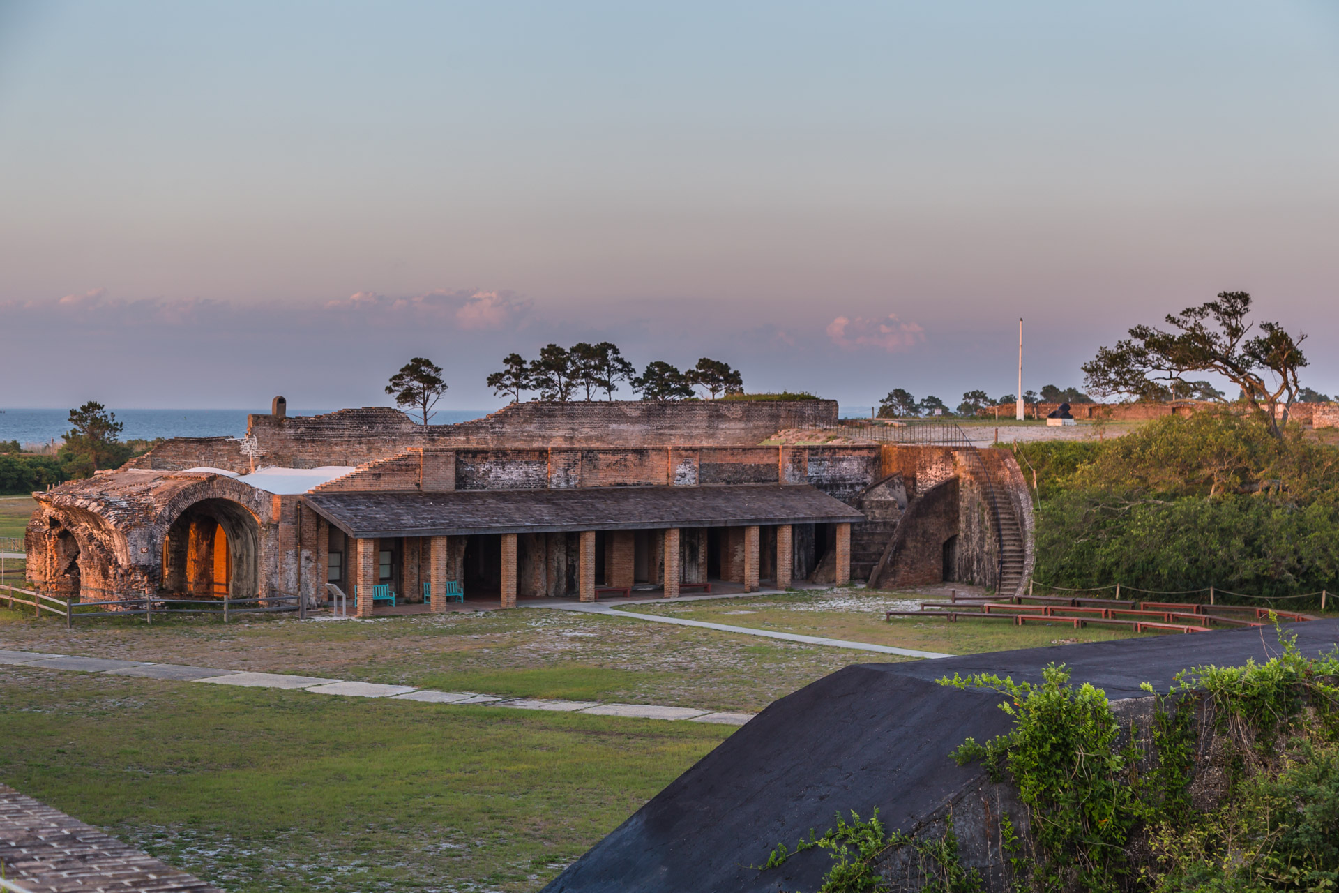 Fort Pickens (back entry)