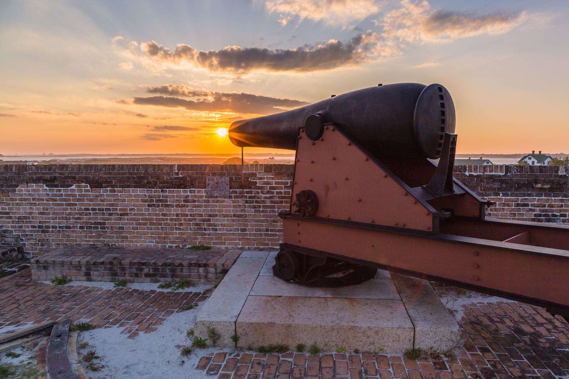 Fort Pickens (canon side)