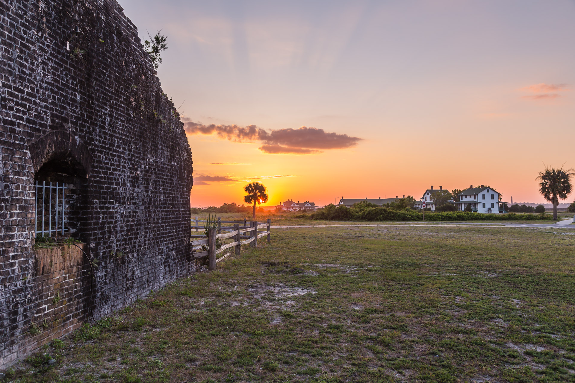 Fort Pickens (exterior side)