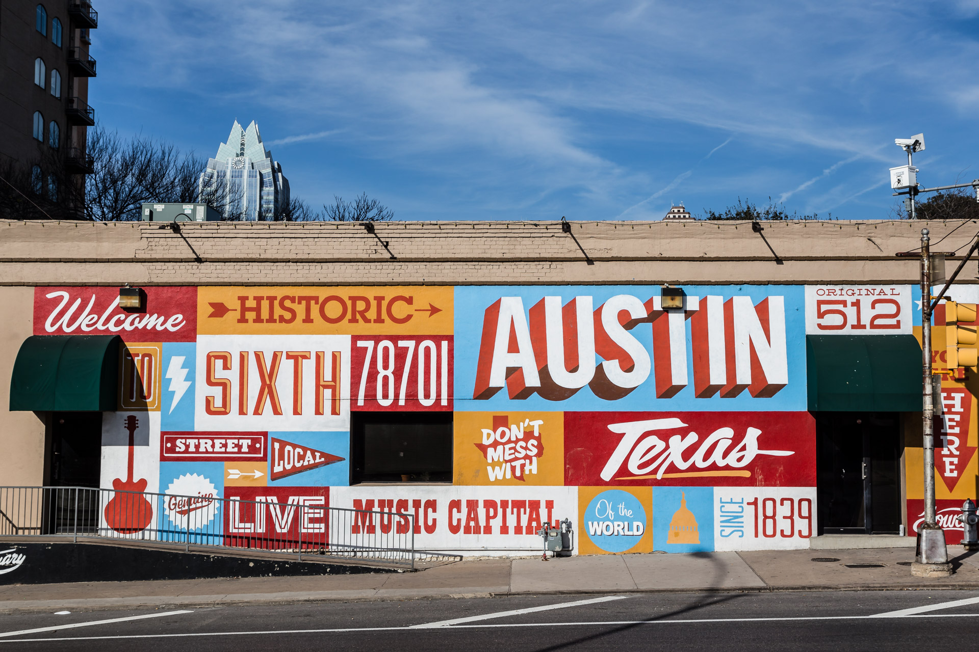 Austin Street Art (historic sixth)