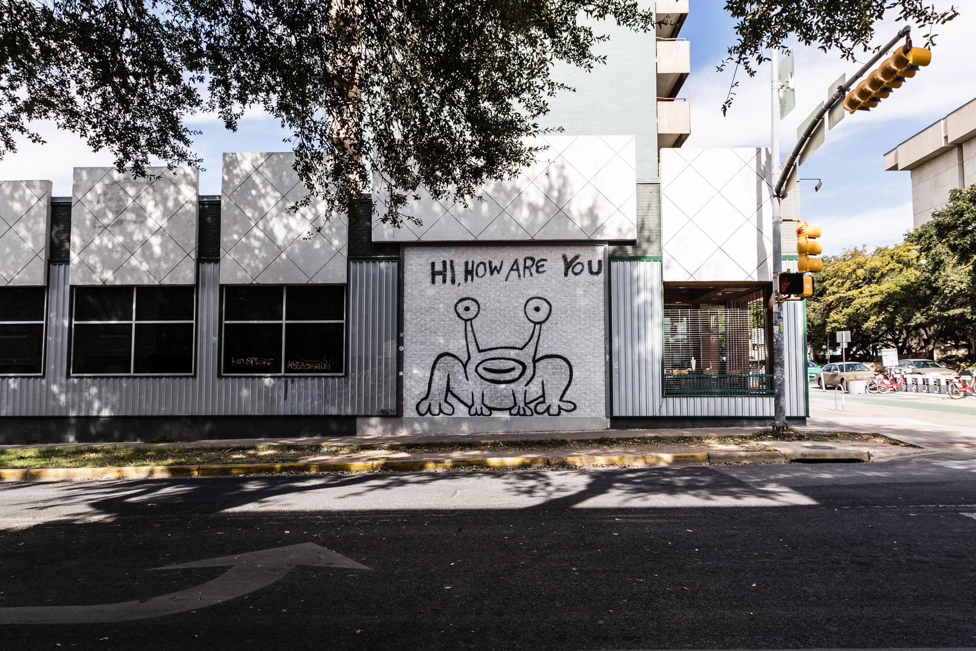 Austin Street Art (how are you)