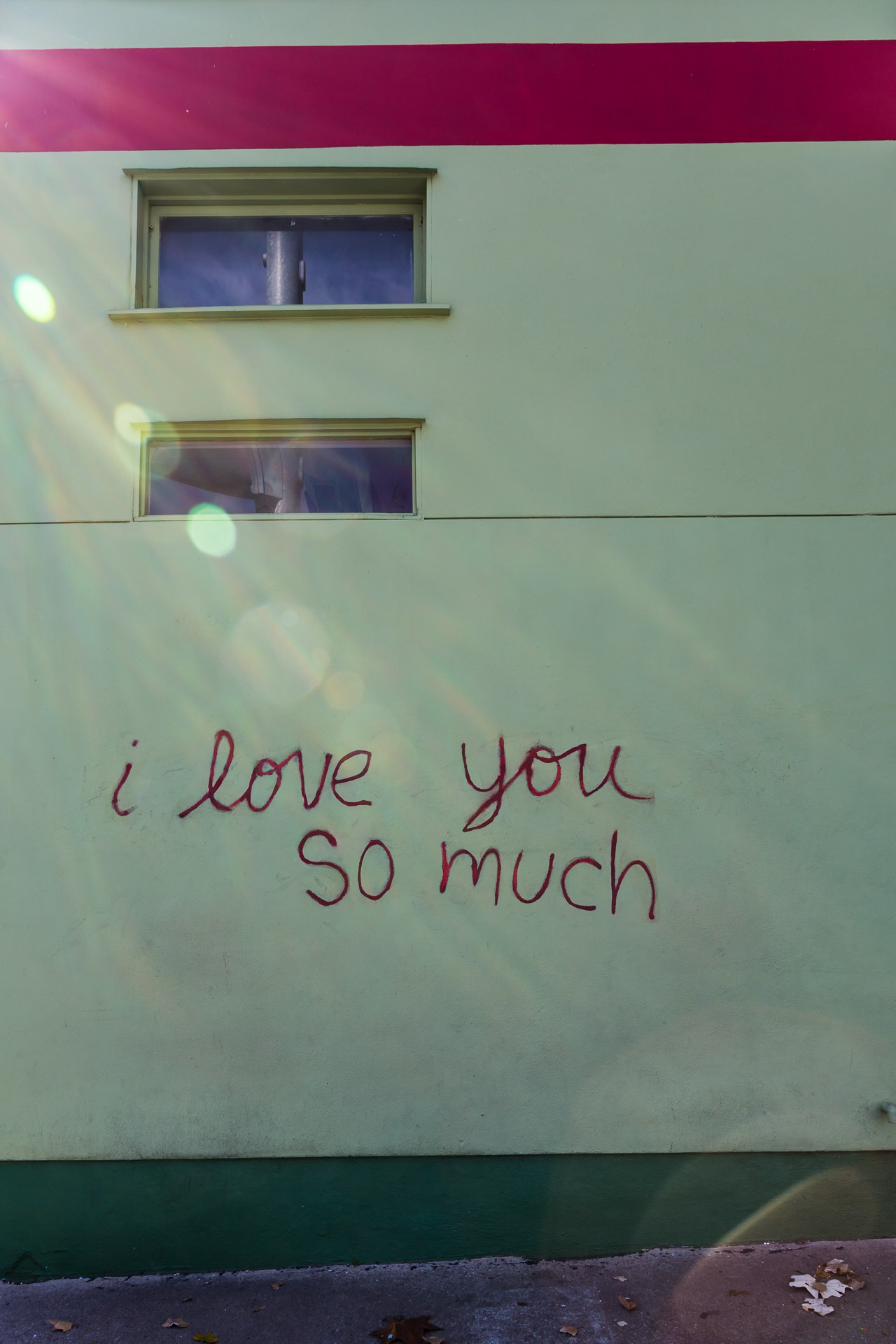 Austin Street Art (love you)