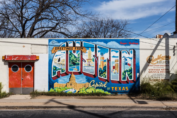 At Home Road Trip: Austin Street Art