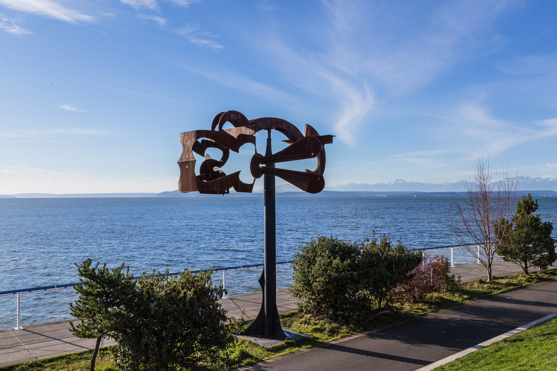 Olympic Sculpture Park (metal pole 2)