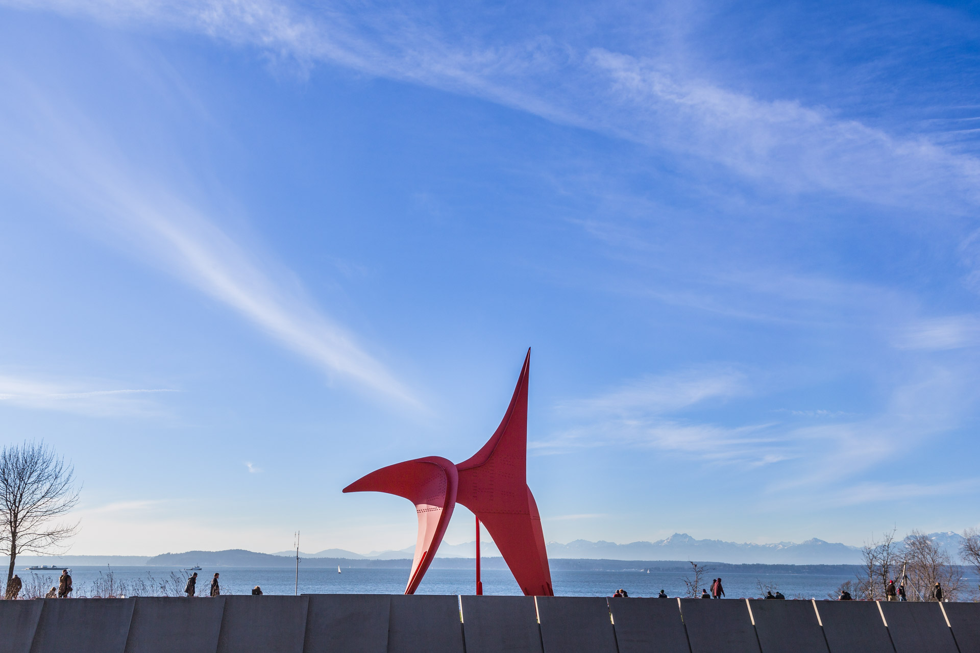 Olympic Sculpture Park (red 3)