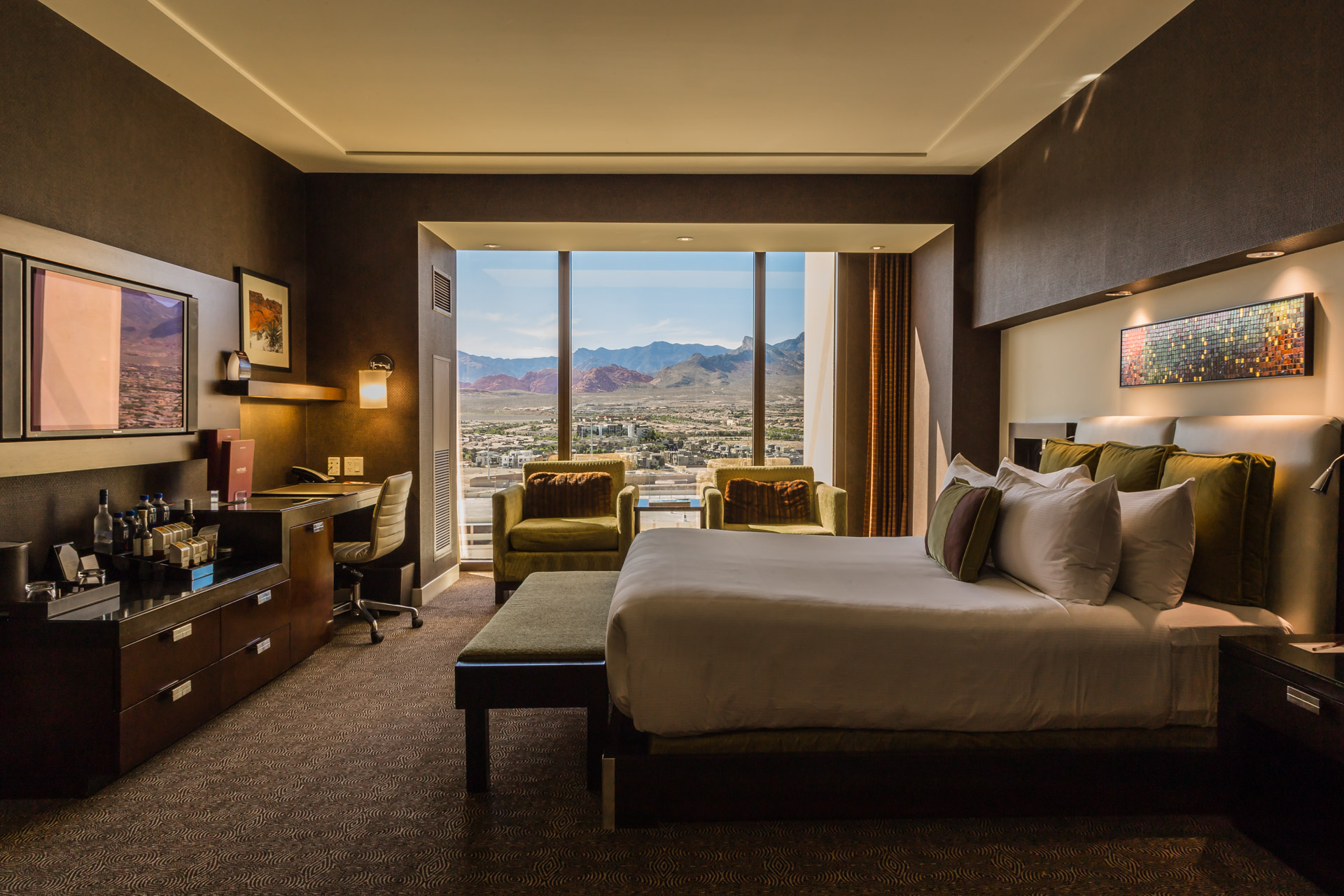 Canyon Views At The Red Rock Resort In Las Vegas