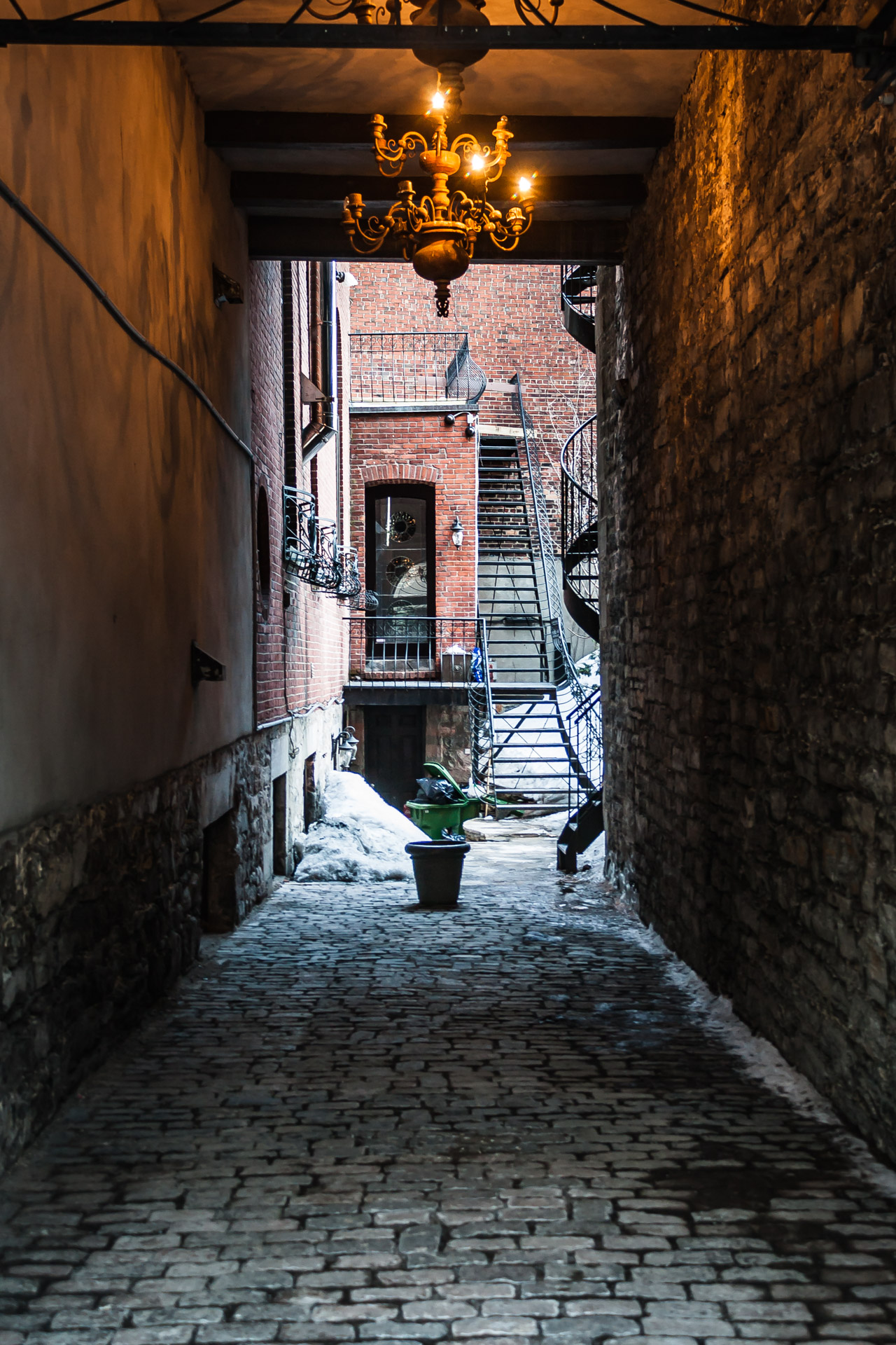 Finding Home In A Travel Destination (alleyway)