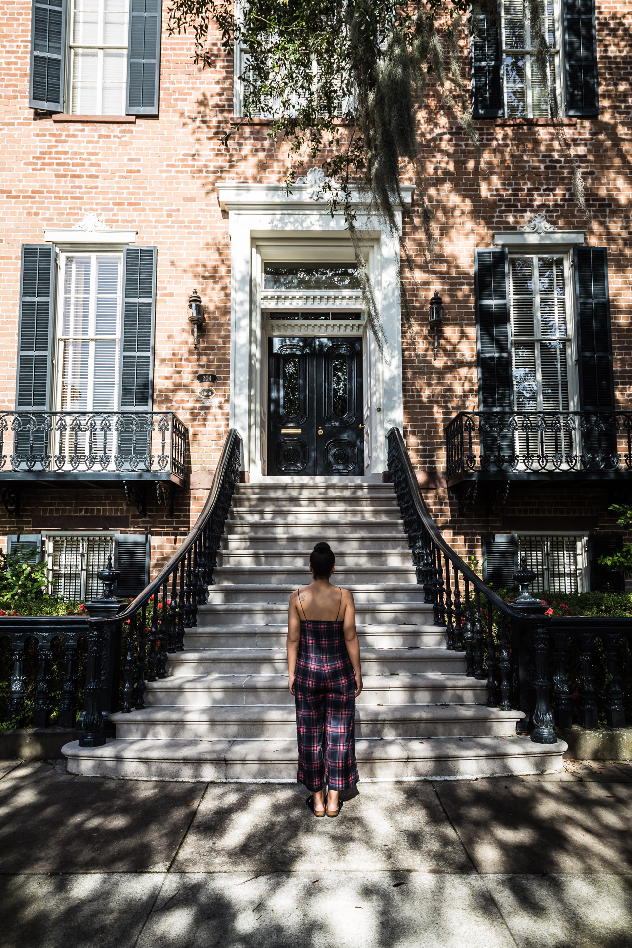 Getting To Know Savannah (grand stairs)