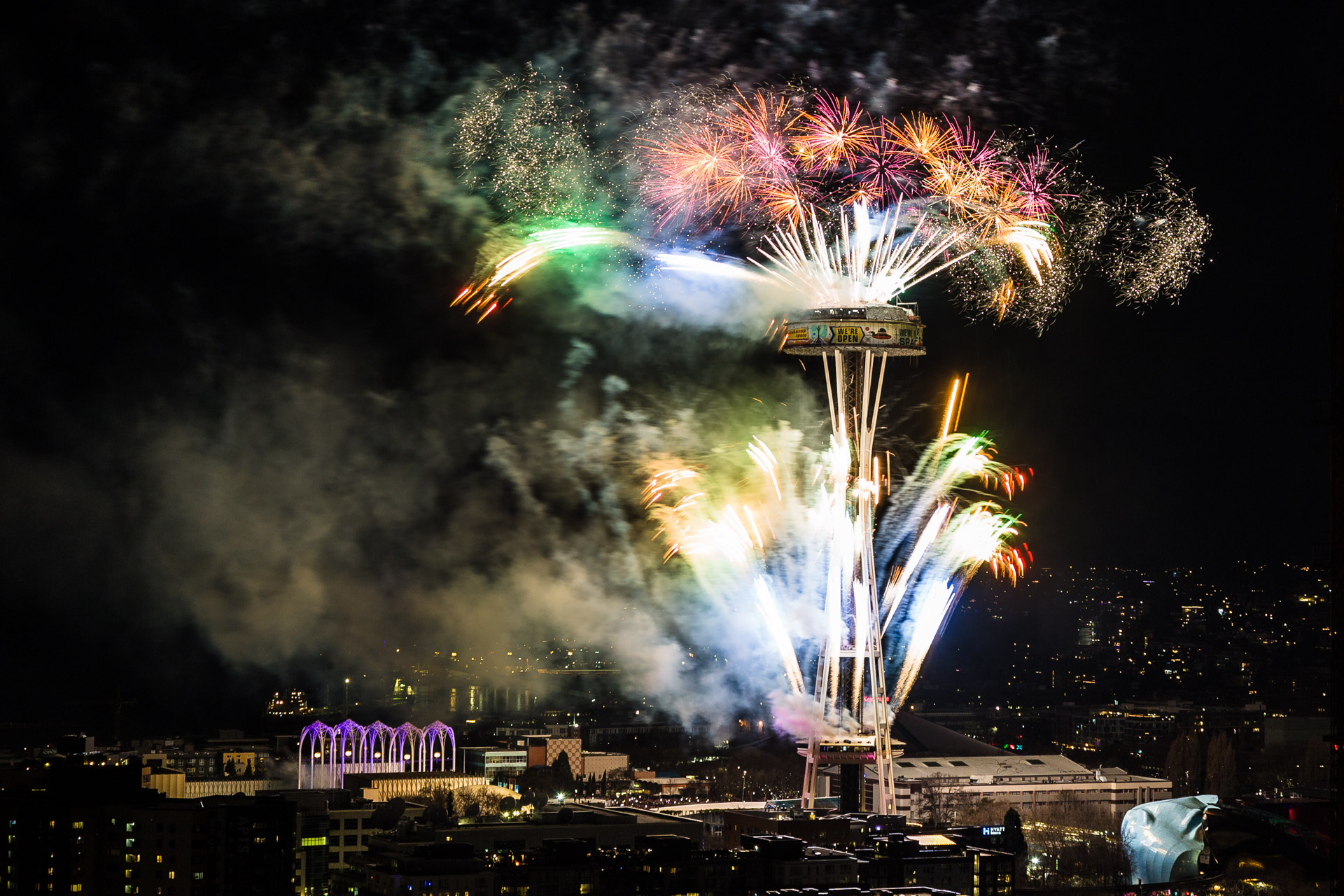 Happy New Year From Seattle!