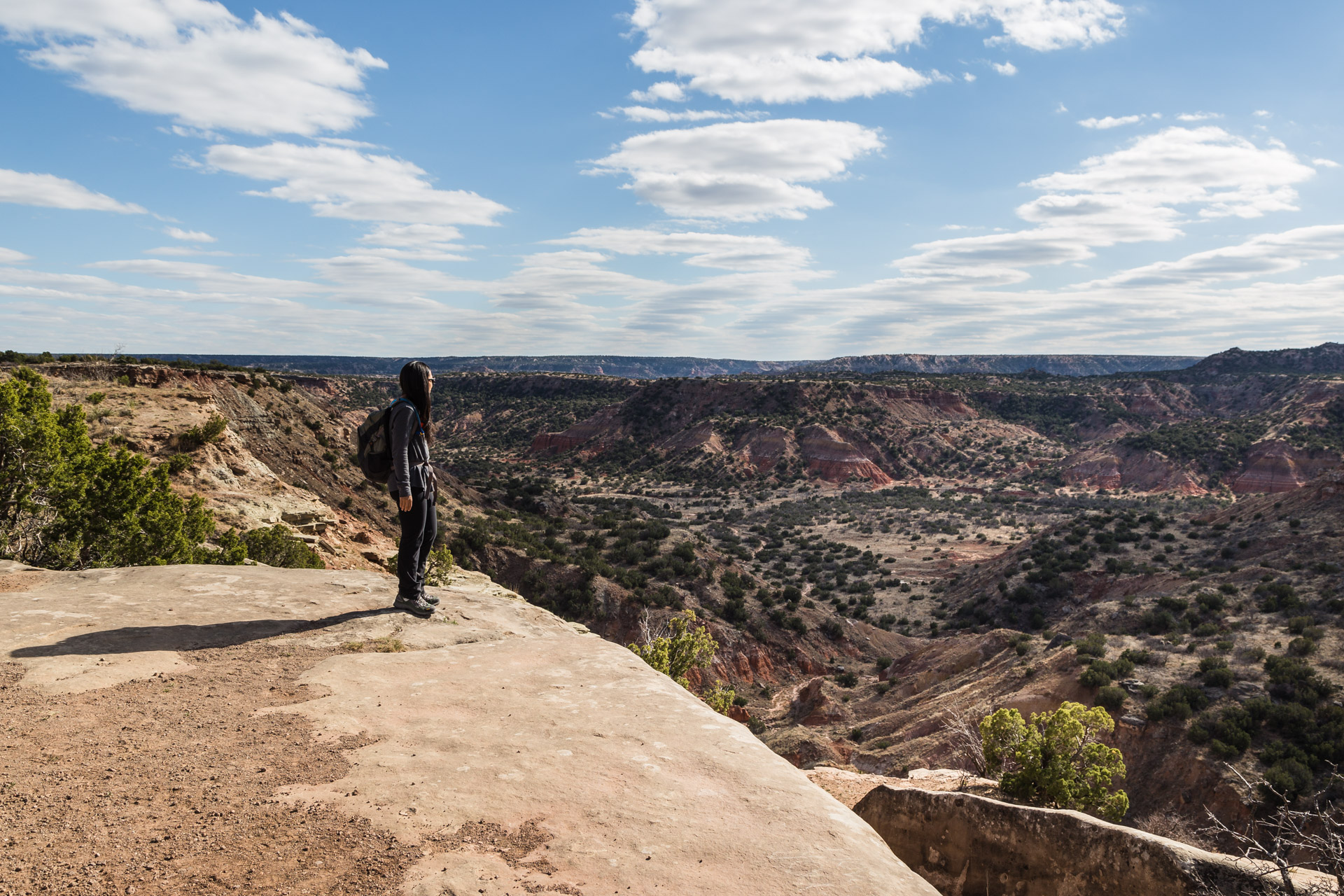 Hiking For The Views At Palo Duro Canyon State Park