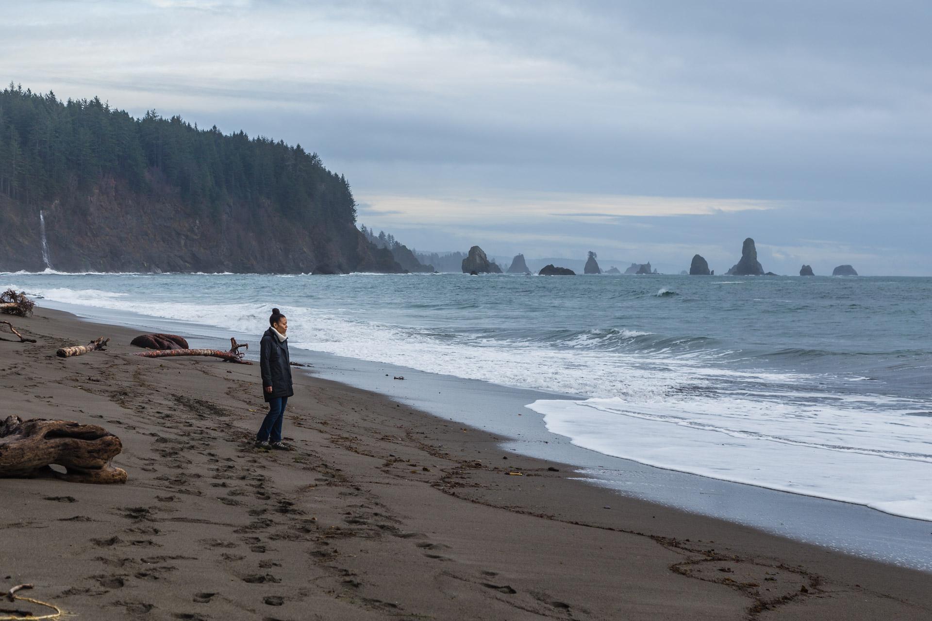 зависит пляж ла пуш штат вашингтон фото пляжу здесь принято