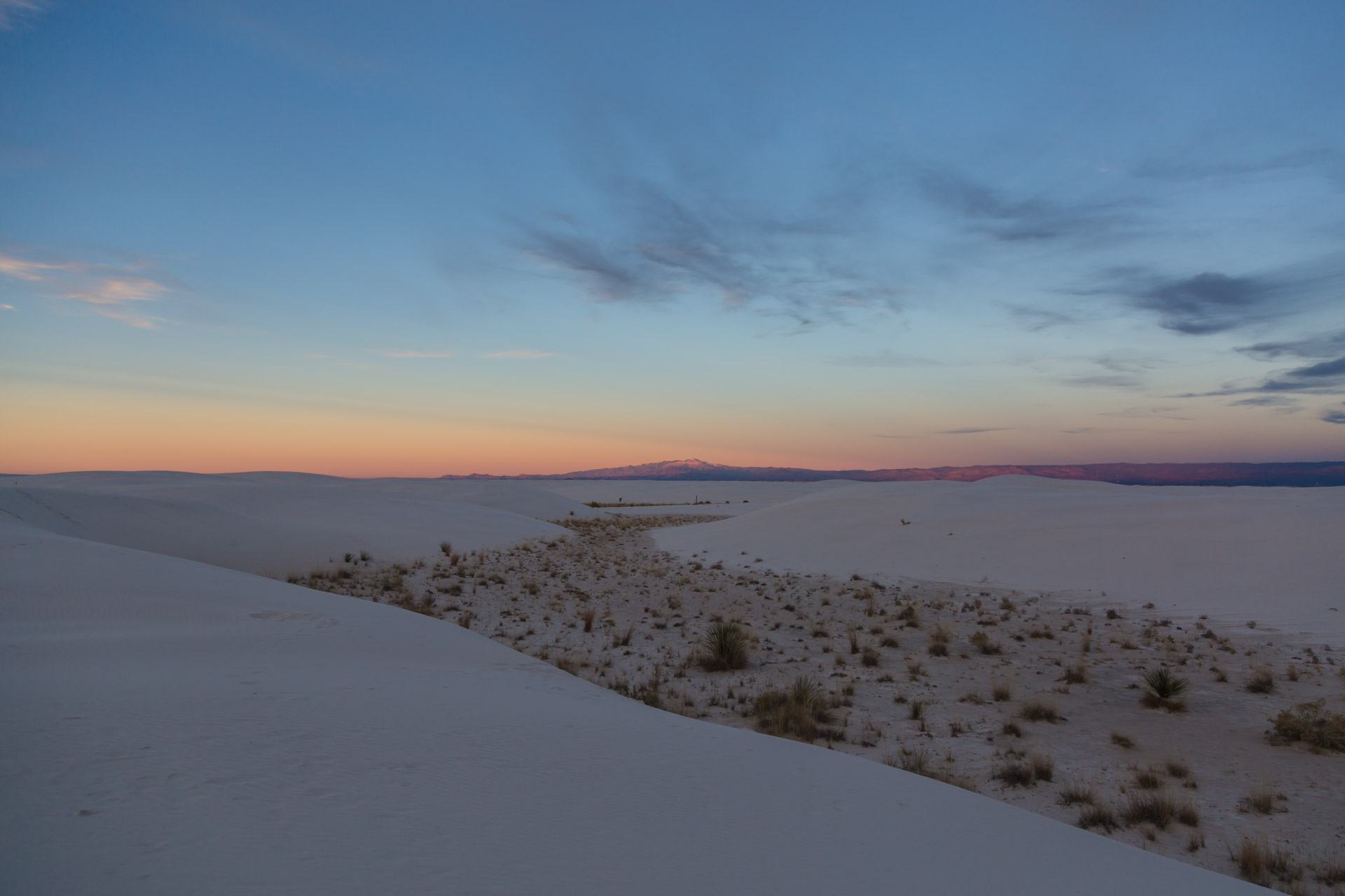 In A Sunset At White Sands (view 1)