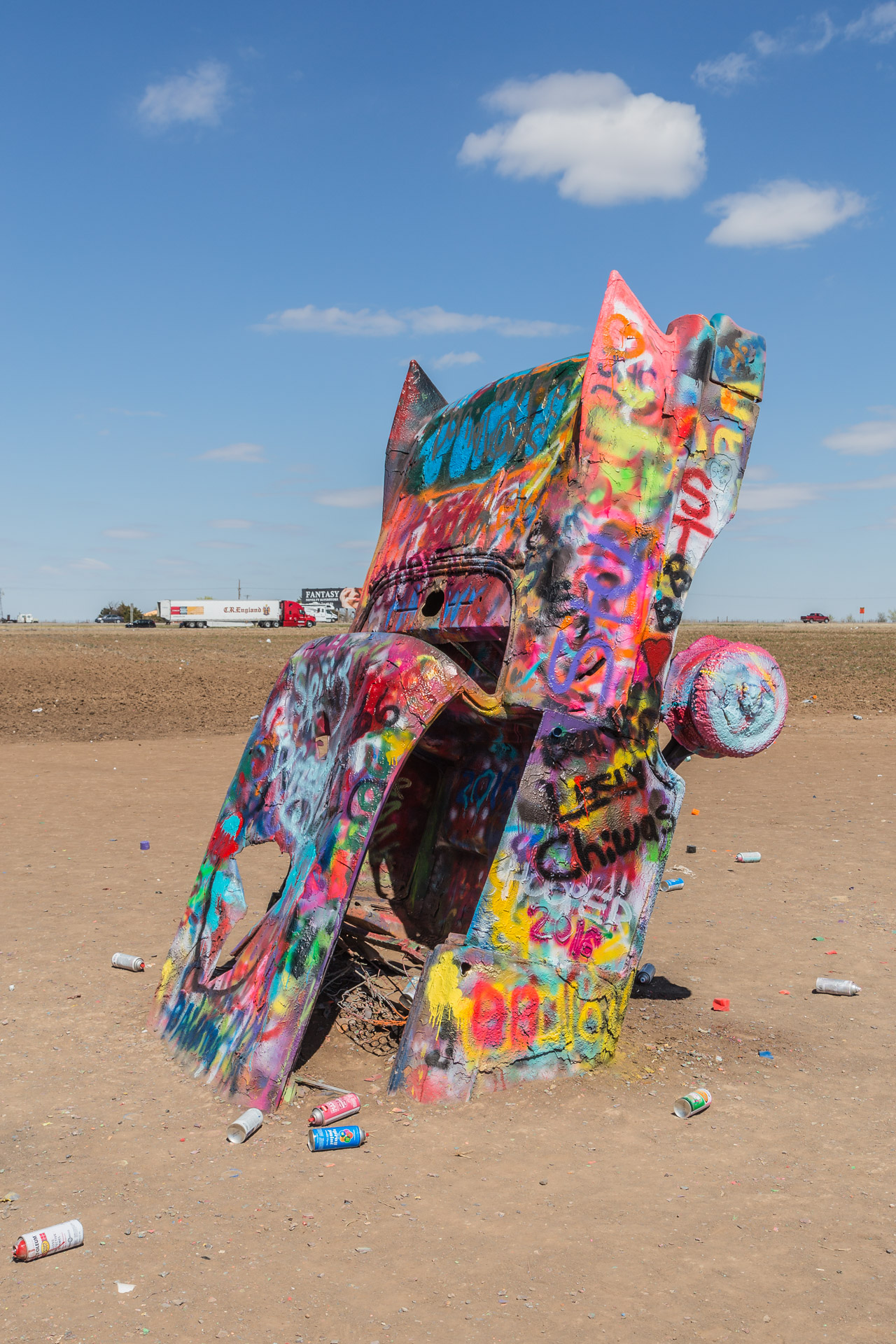 Cadillac Ranch (vertical 4)