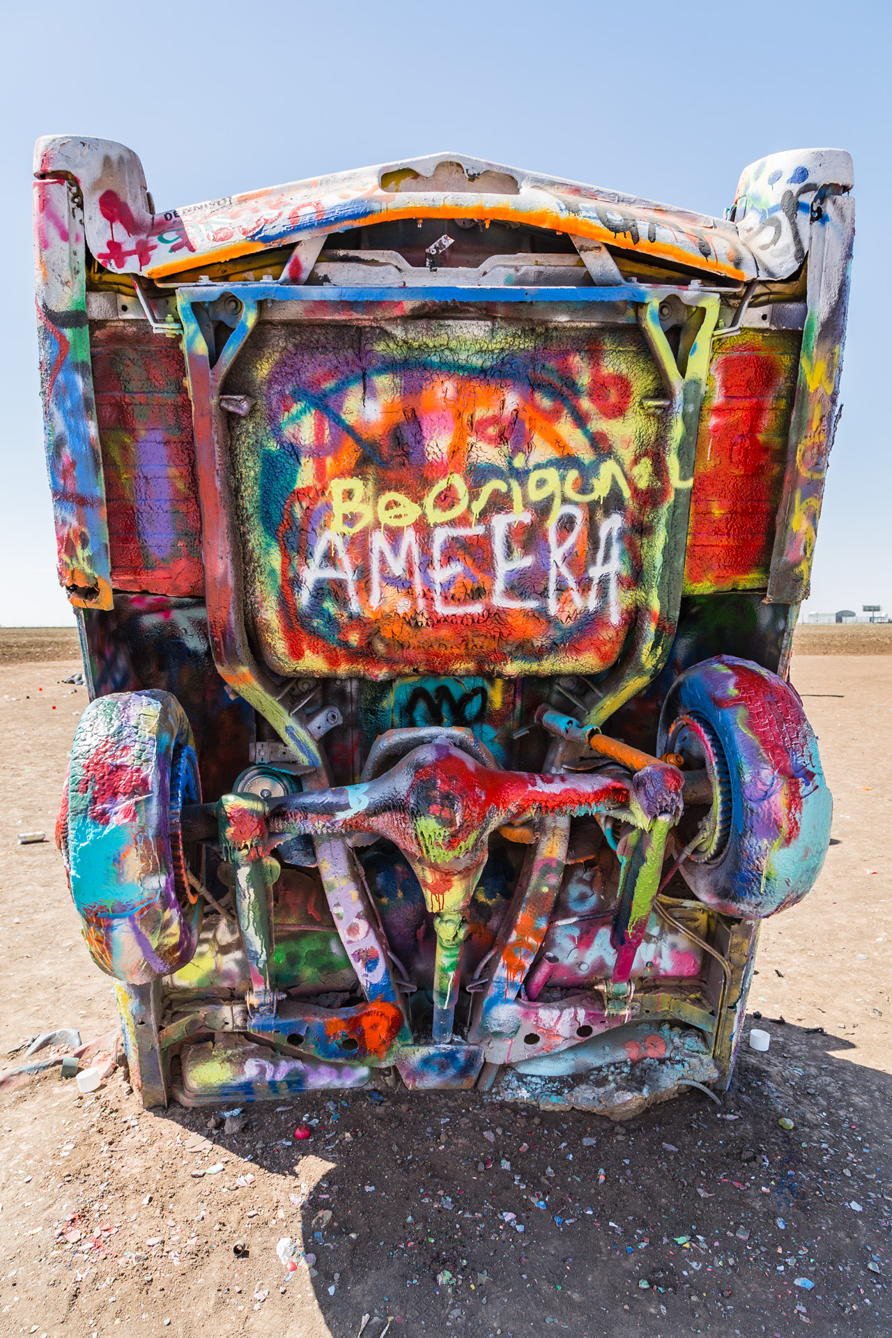 Cadillac Ranch (vertical 6)
