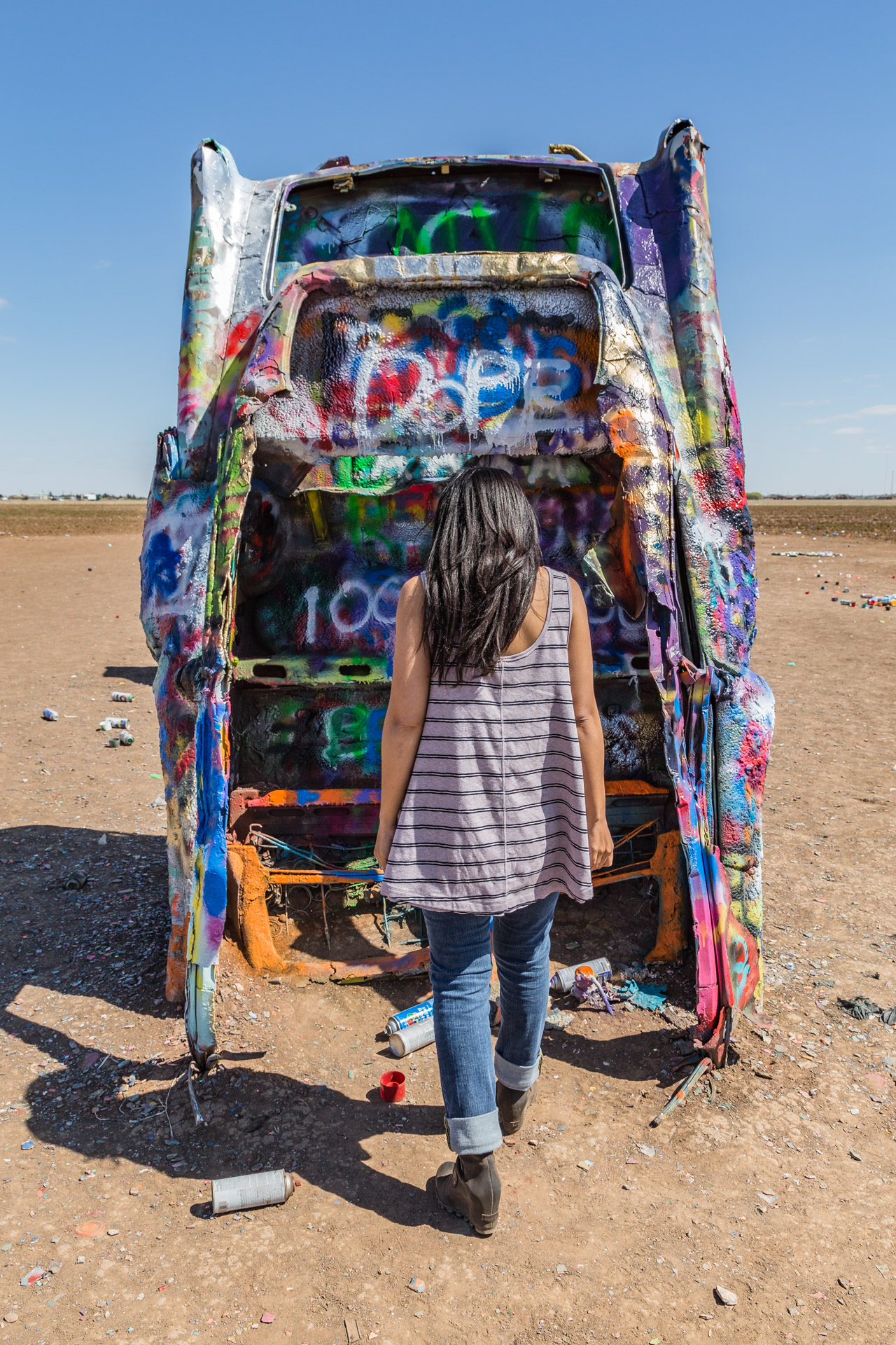 Cadillac Ranch (vertical 7)