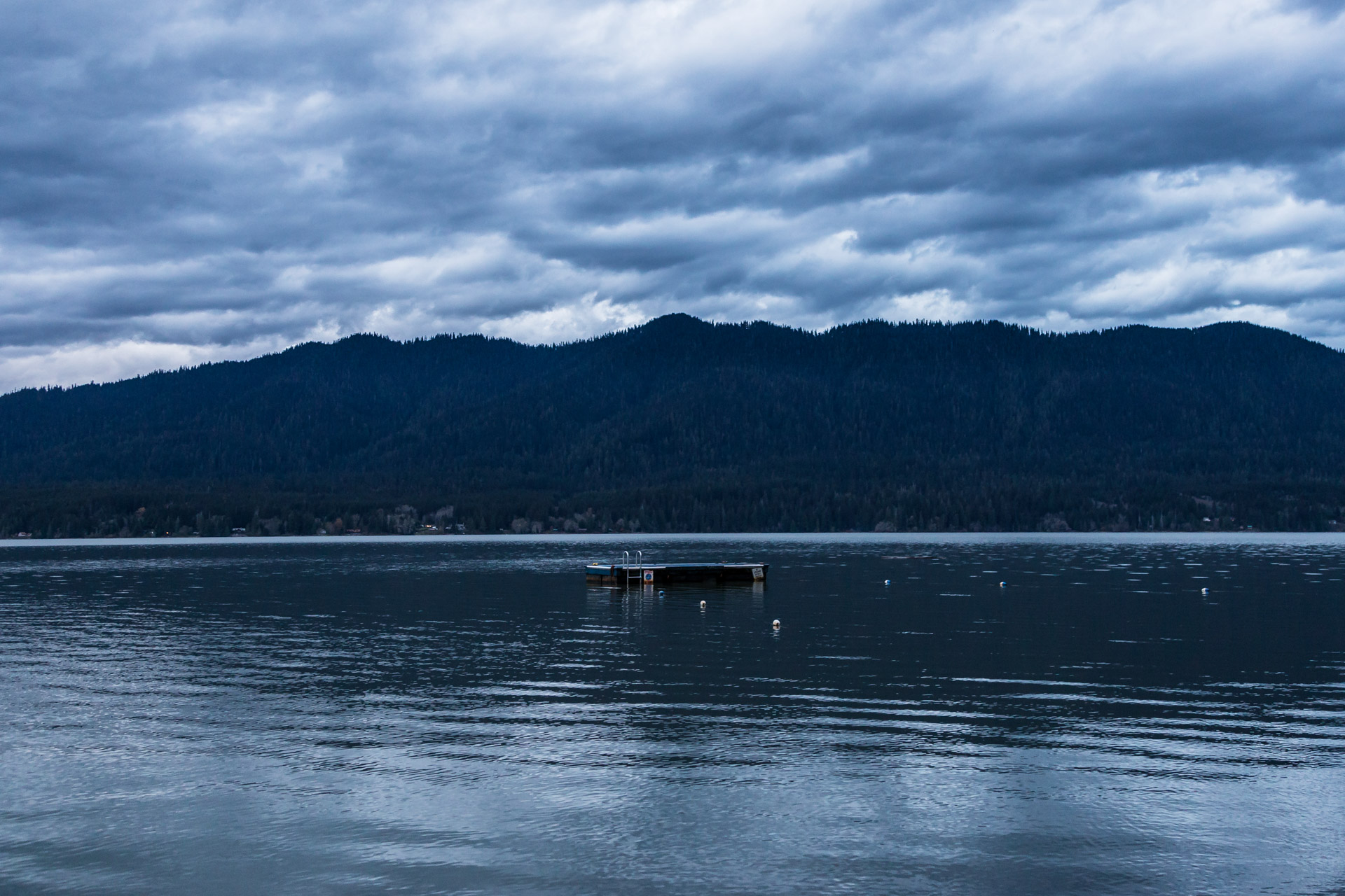 Lake Quinault (lake dock)
