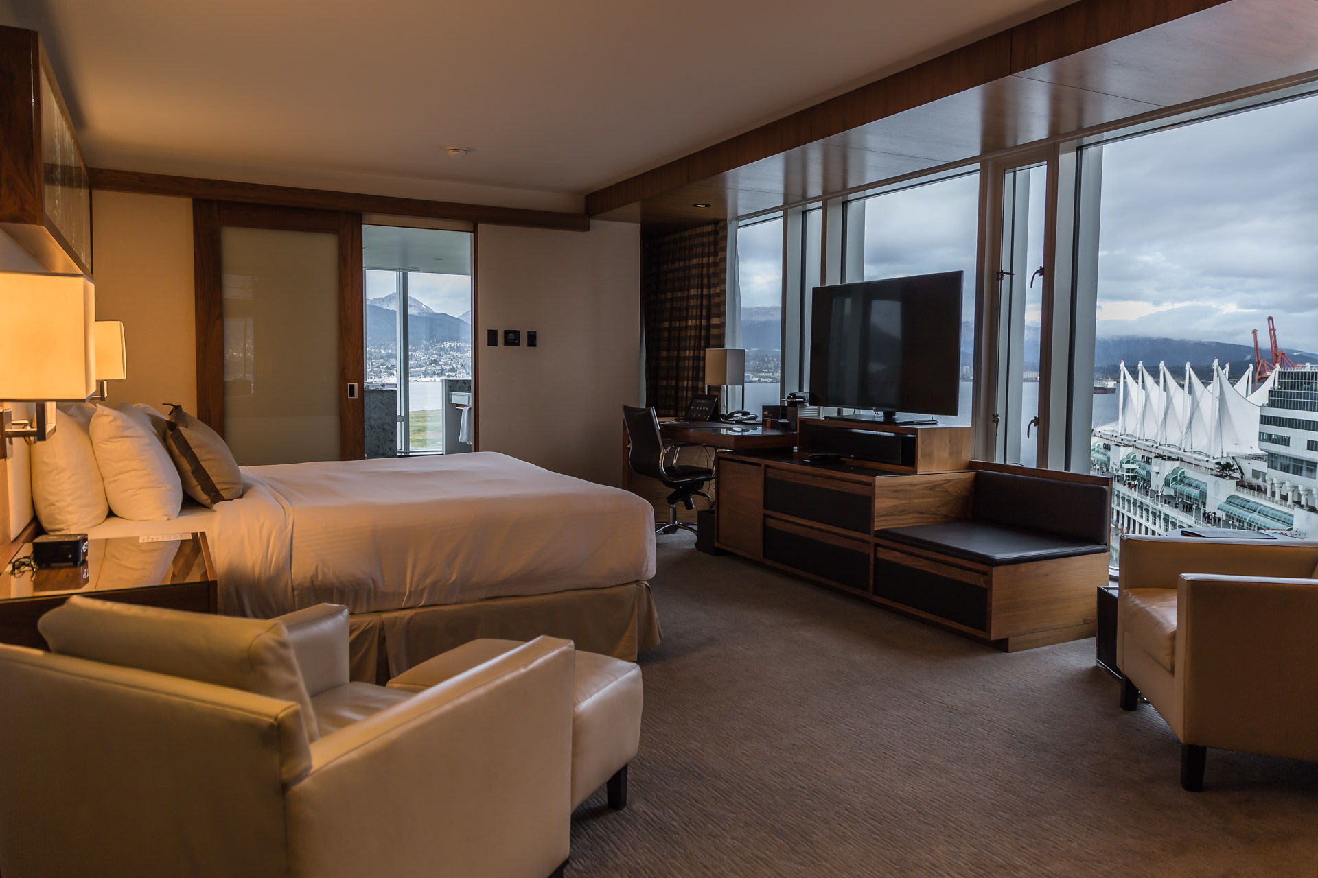 Panoramic Views At The Fairmont Pacific Rim Part 1