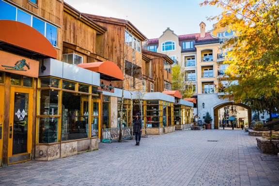Peacefully Off-Season In Vail, Colorado