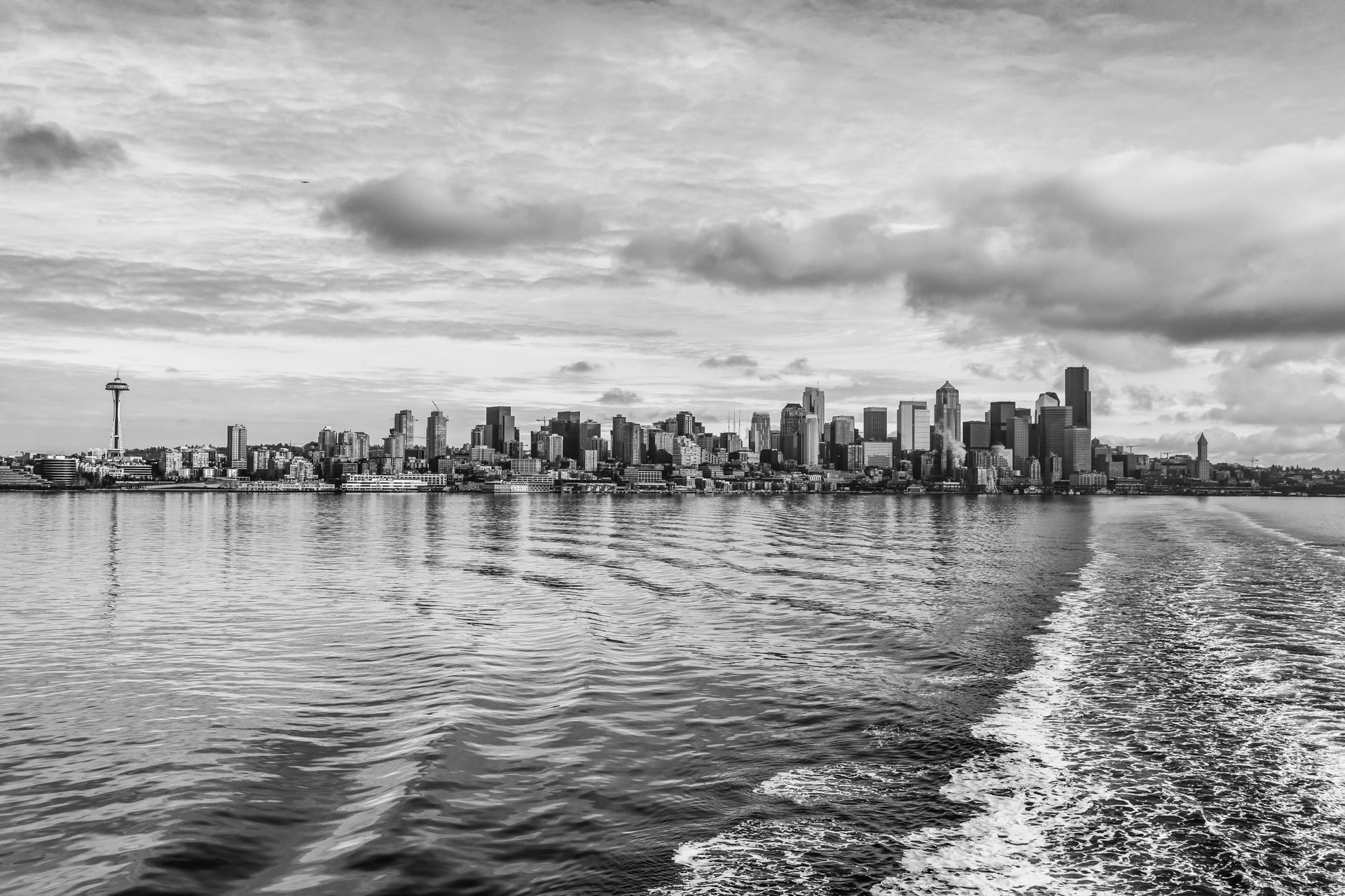 Seattle Black And White (12)