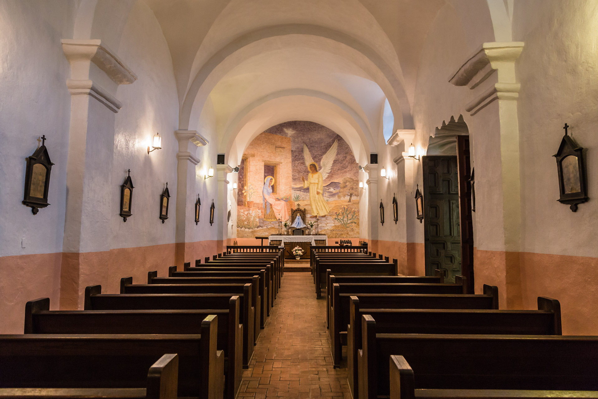 The Chapel At The Presidio La Bahia
