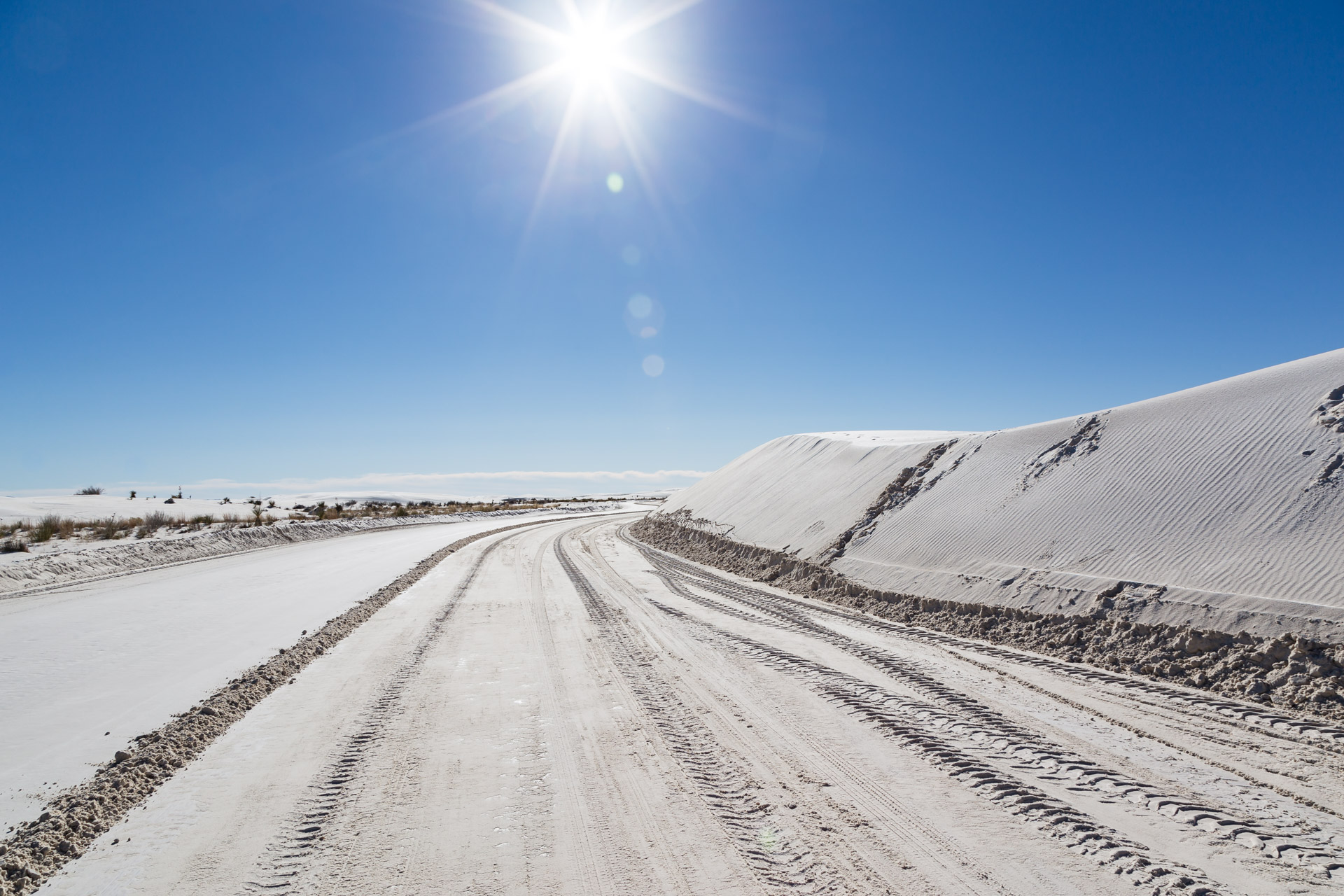 Which Road (white sands)